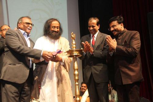 Launch of Hindi Version of Man's Spiritual Journey by Shri Ravi Shankar