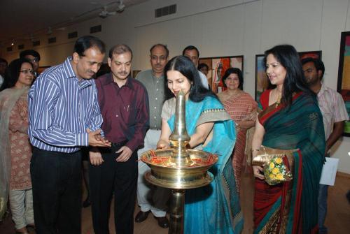 Painting Exhibition at Lalit Kala Academy New Delhi
